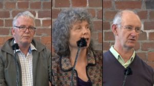 Images of Martin Thrupp, Cathy Wylie, and John O'Neill